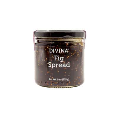 Divina Fig Spread glass jar